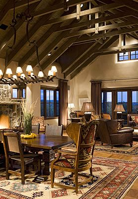 Real Life Inspiration: The Flying Diamond Ranch | Stylish Western Home  Decorating
