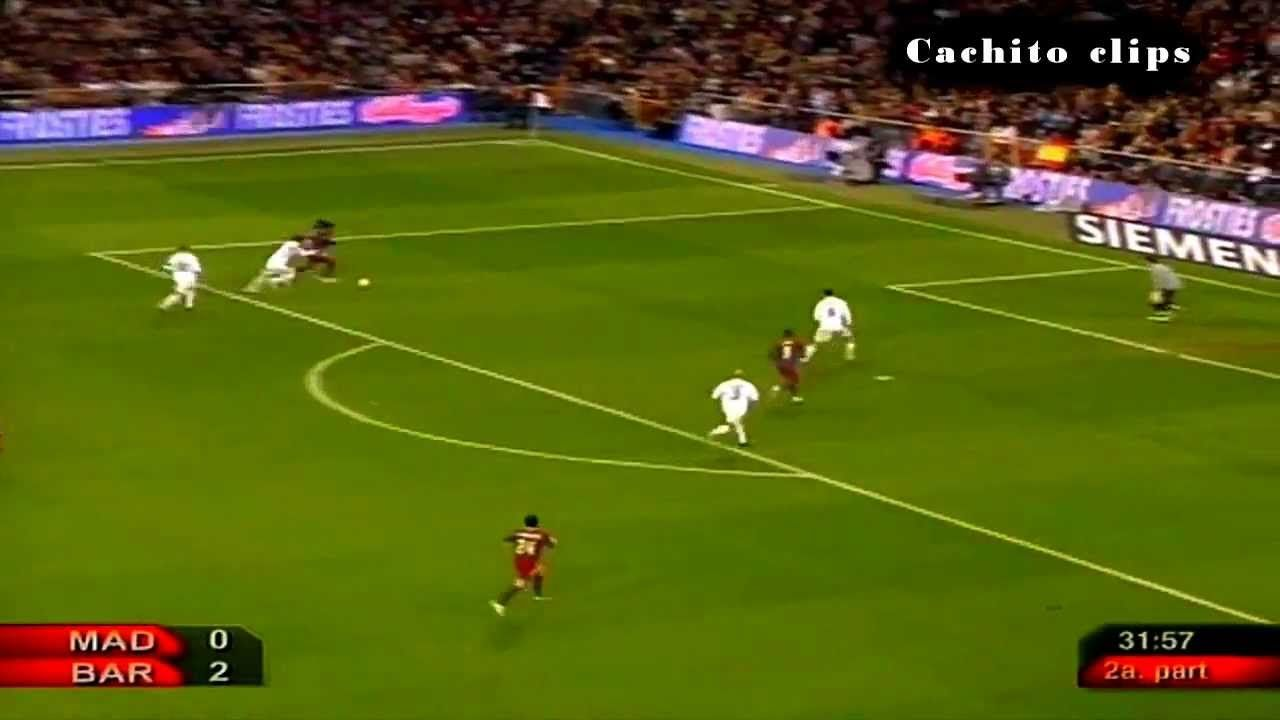 114. Ronaldinho, Eto'o & Messi Best Game Ever Vs Real Madrid