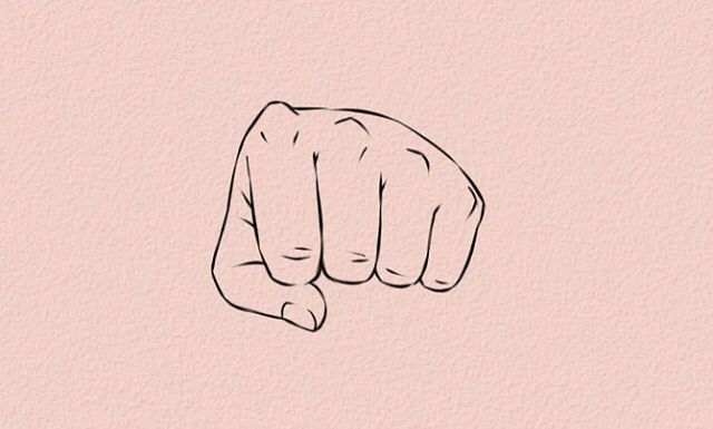 Fist Bump Drawing Anime Hands Anime Hands Cartoon Fist