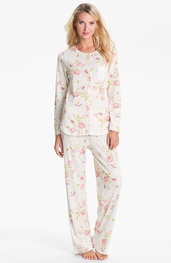 9d5adc9ae8854 Carole Hochman Cozy Morning Pajama Set Plus Size. Carole Hochman Designs  Interlock Knit Pajamas available at  Nordstrom