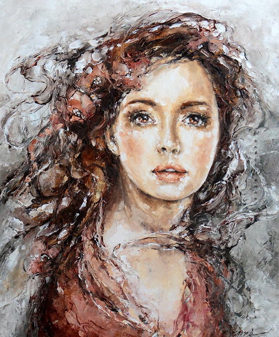 картинки живописный портрет
