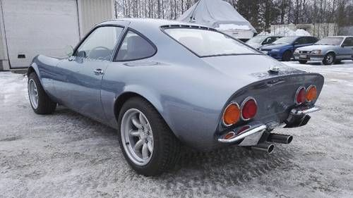 Opel Gt Fully Restored Rare Classic Sports Car 1970 Classic