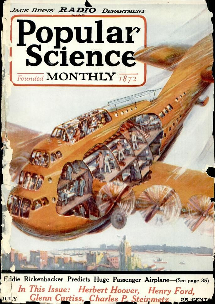 Popular Science Jul 1922 114 Pages Vol 101 No 1 Google Books