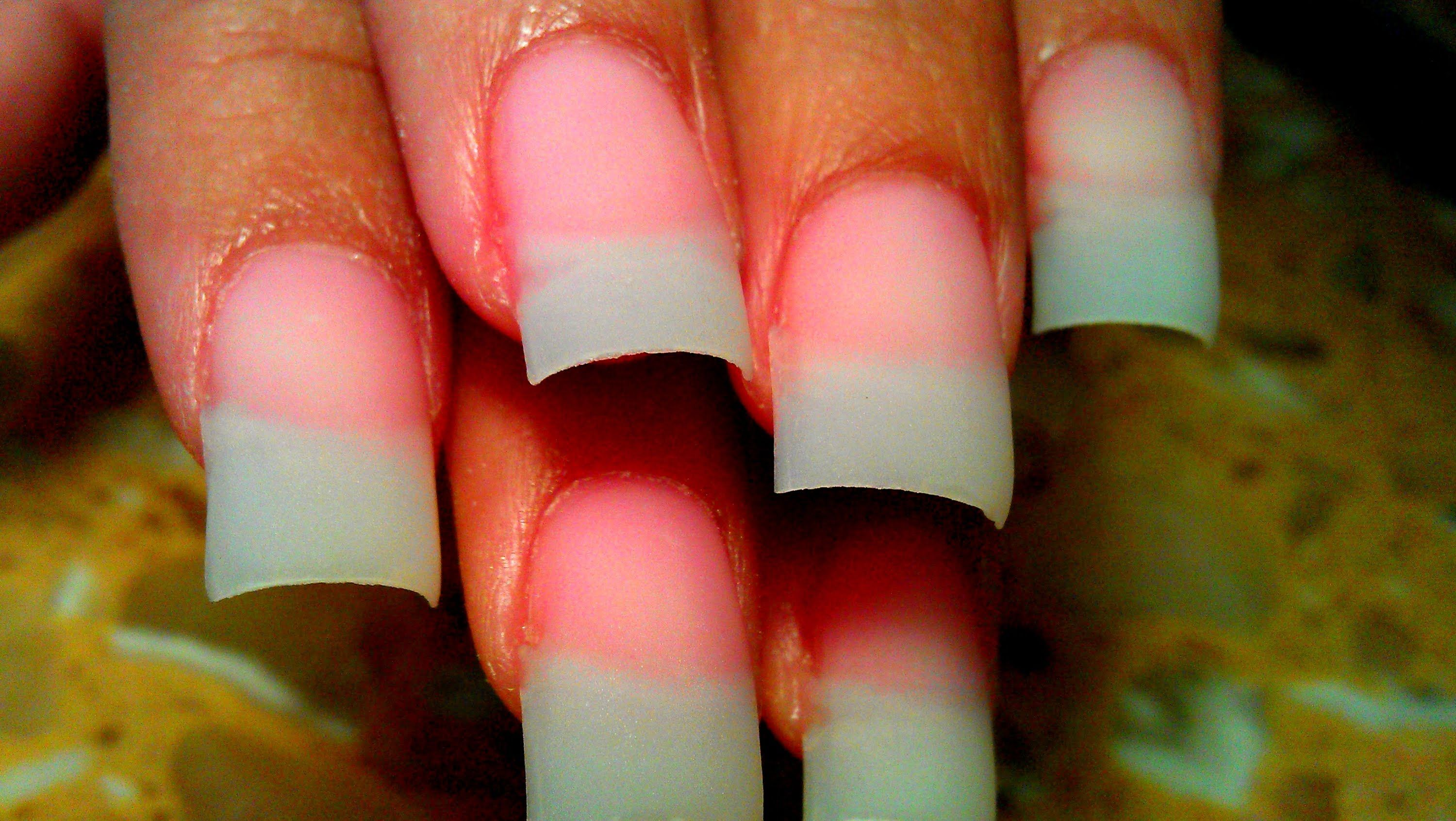 How To Shape File Acrylic Nails Up Close