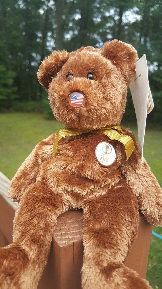 5f4f77f6c3b Ty Beanie Baby - CHAMPION FIFA bear - Collectibles