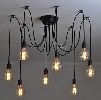 100 240 V novidade Modern Art Deco Lustre Lustre DIY