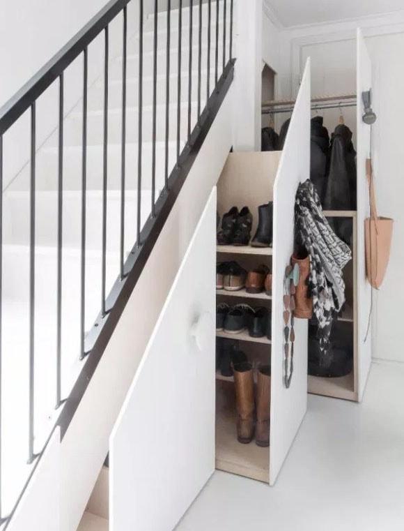 Penderie Sous Escalier Recherche Google Amenagement Sous Escalier Meuble Sous Escalier Sous Escalier