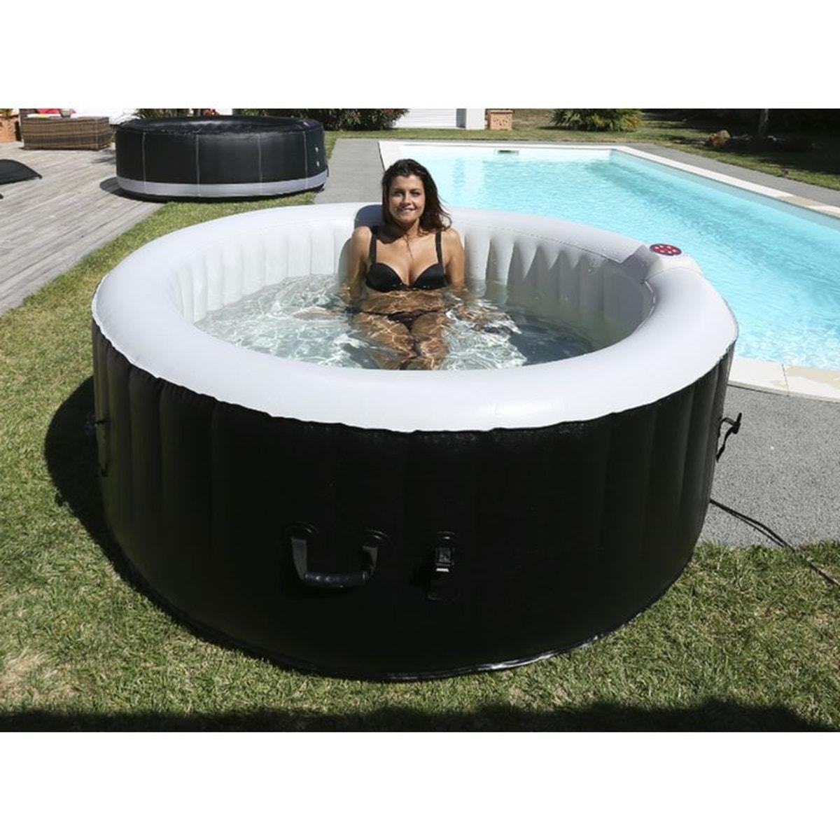 Spa Gonflable Laminee 6 Personnes Gonflage En 5 Minutes Taille Taille Unique Products En 2019 Spa Gonflable Jacuzzi Et Spa