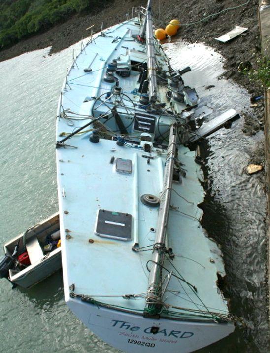 Sailing Anarchy Sailing Shipwreck Boat
