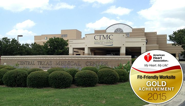 CTMC is recognized once again as a Fit-Friendly Worksite by the American Heart Association! #FitFriendly #AHA #SMTX