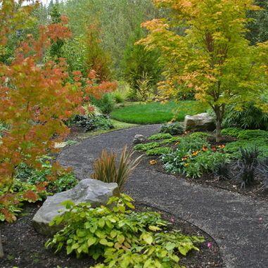 Woodland Landscape Design Design Ideas, Pictures, Remodel and Decor