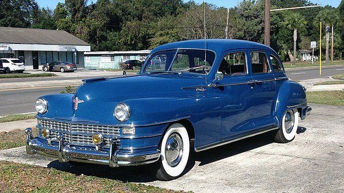 1948 Chrysler New Yorker 4 Door Sedan Chrysler New Yorker Chrysler Classic Cars