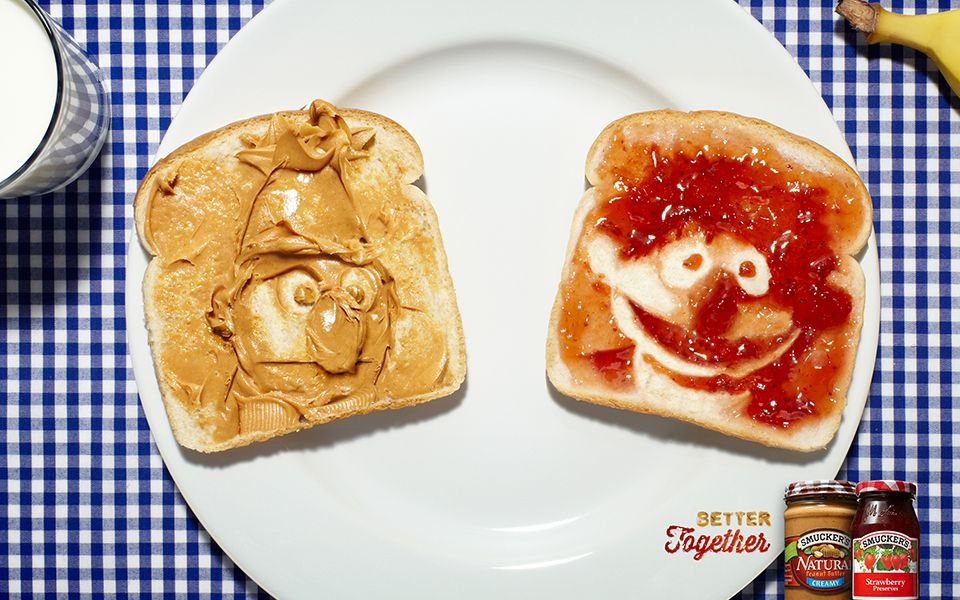 Smuckers PB & J 'Better Together' main image