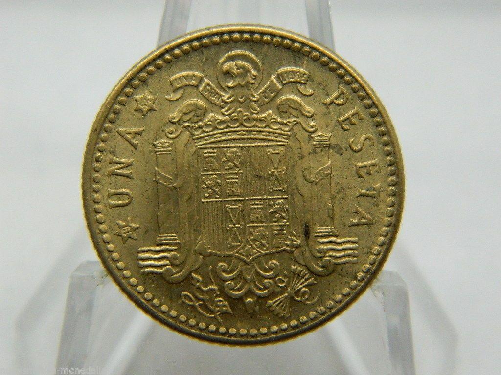 1947 54 Franco 1 Peseta Ebay Monedas Moneda Española Ebay