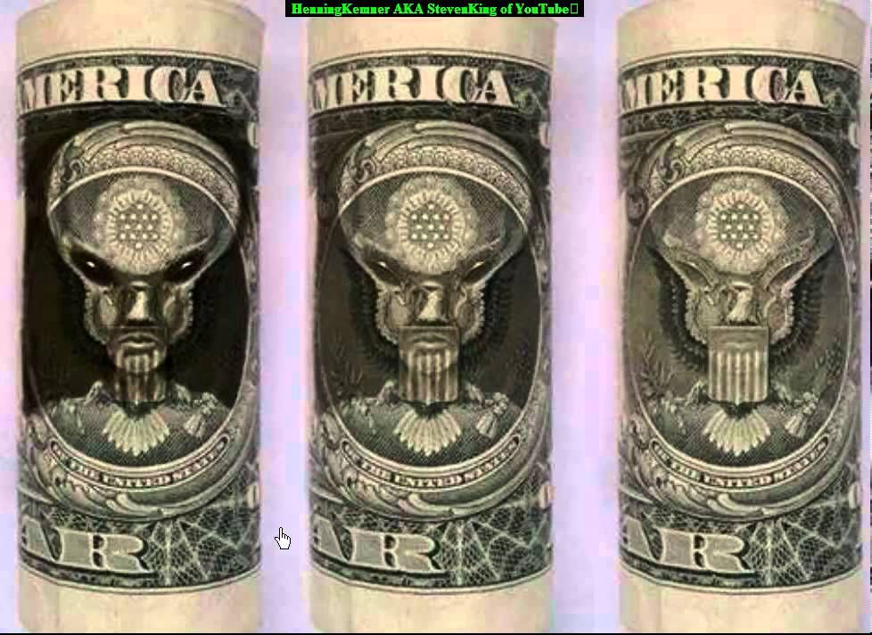 Alien (Muslim) on the 1 Dollar Bill | Conspiracy, Weird ...Dollar Bill Secrets Alien