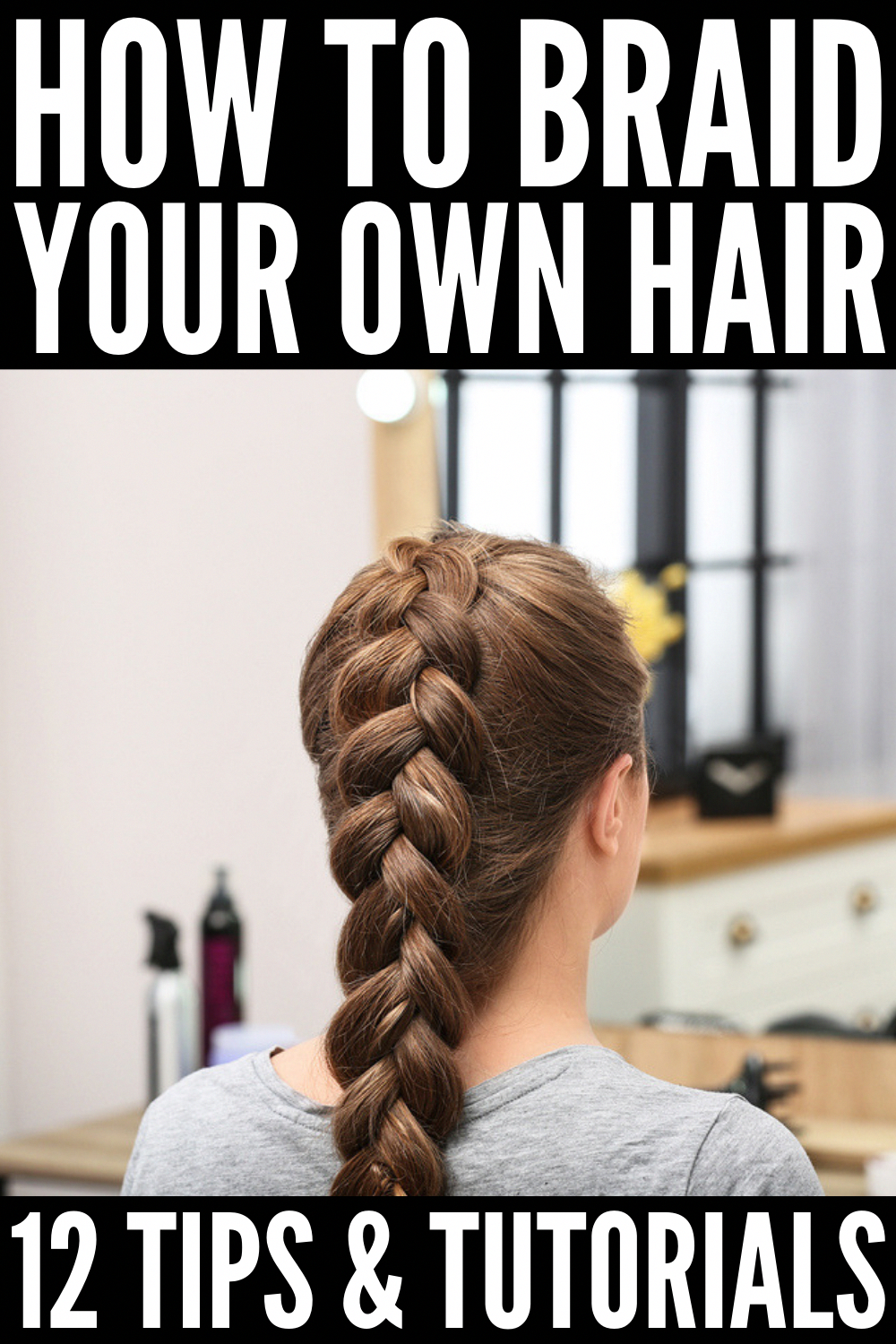 How to Braid Your Own Hair: 5 Step-by-Step Tutorials for Beginners -   9 hairstyles Long step by step ideas