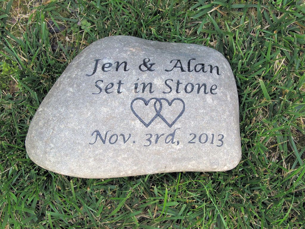 Engraved Oathing Stone Irish Celtic Wedding Gifts 10 11 Inch Wedding Engagement Gifts Stone Wedding Gifts Trendy Wedding Favors