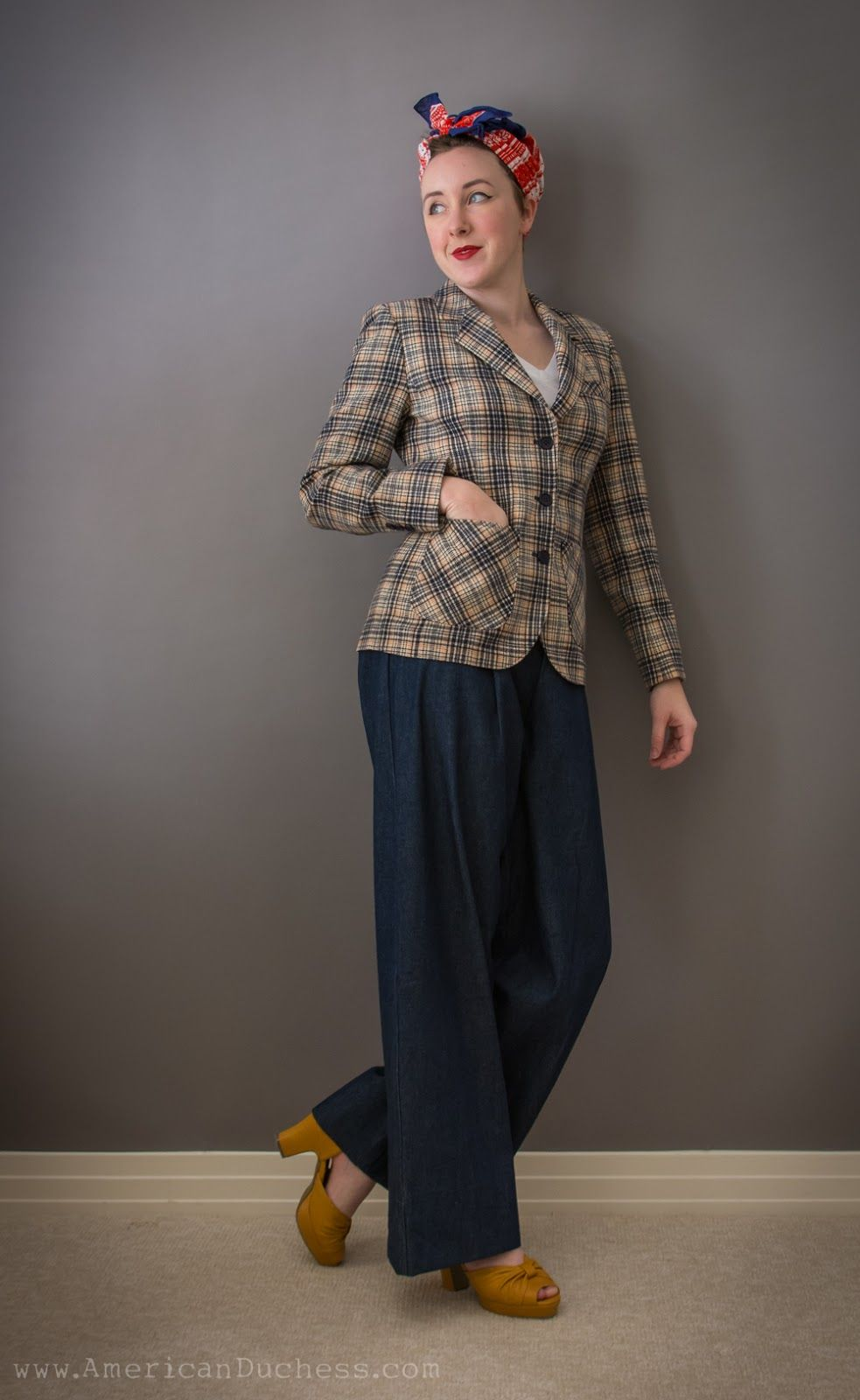 Women S 1940s Pants Styles History And Buying Guide: Review: Wearing History 1940s Trousers Pattern. LOVE THESE