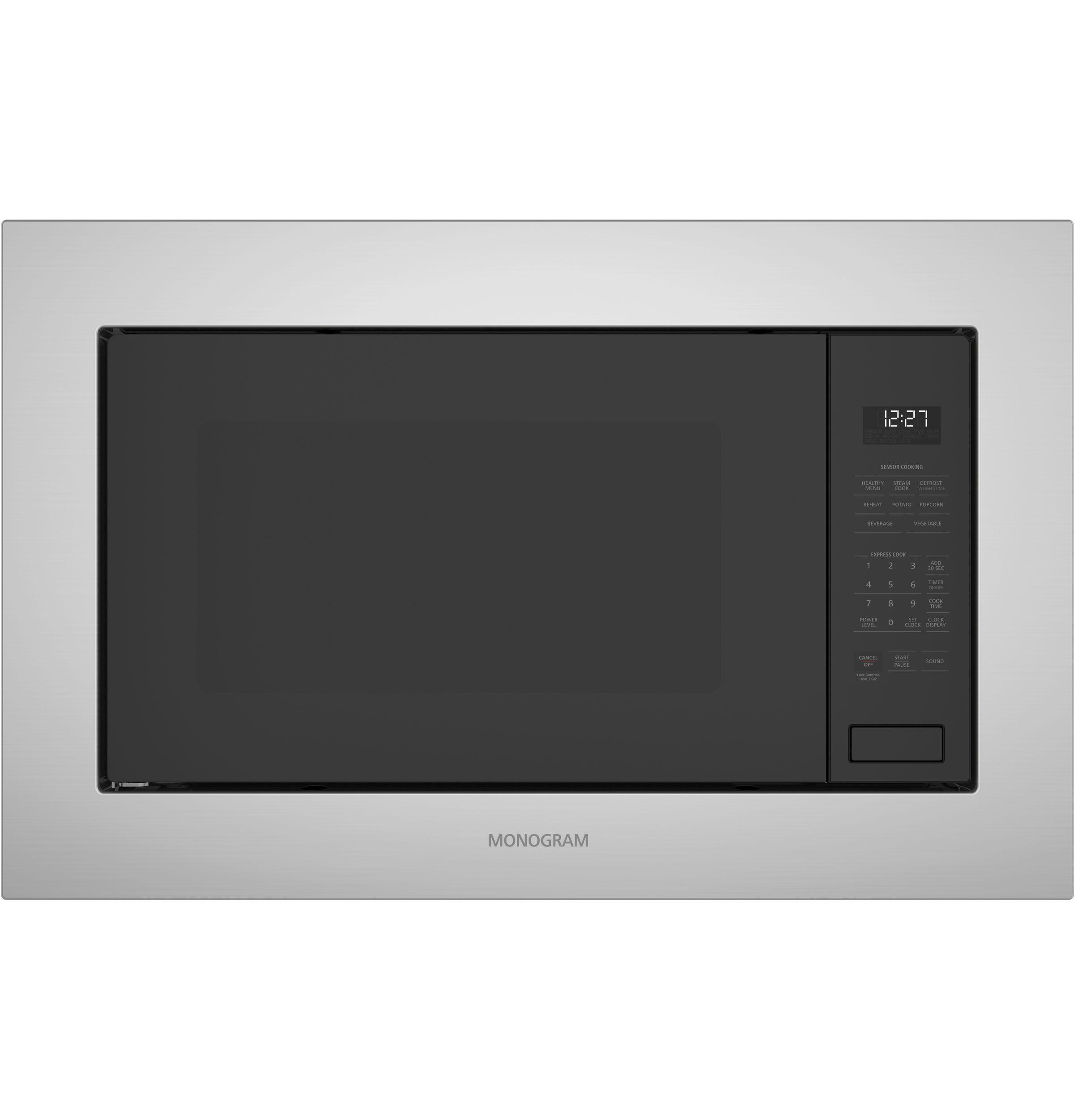 Monogram 2 2 Cu Ft Built In Microwave Oven Model Zeb1227slss