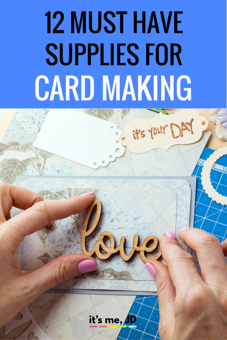 Card Making Ideas And Tips Part - 49: 12 Must Have Supplies For Card Making, Great Essential Tools To Add To Your  Craft