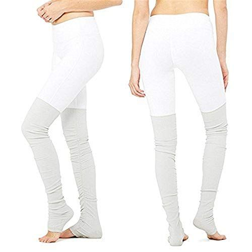 Photo of Targogo women with high waist fitness workout running girls yoga sport pants sweatpants elastic slim fit trousers leggings