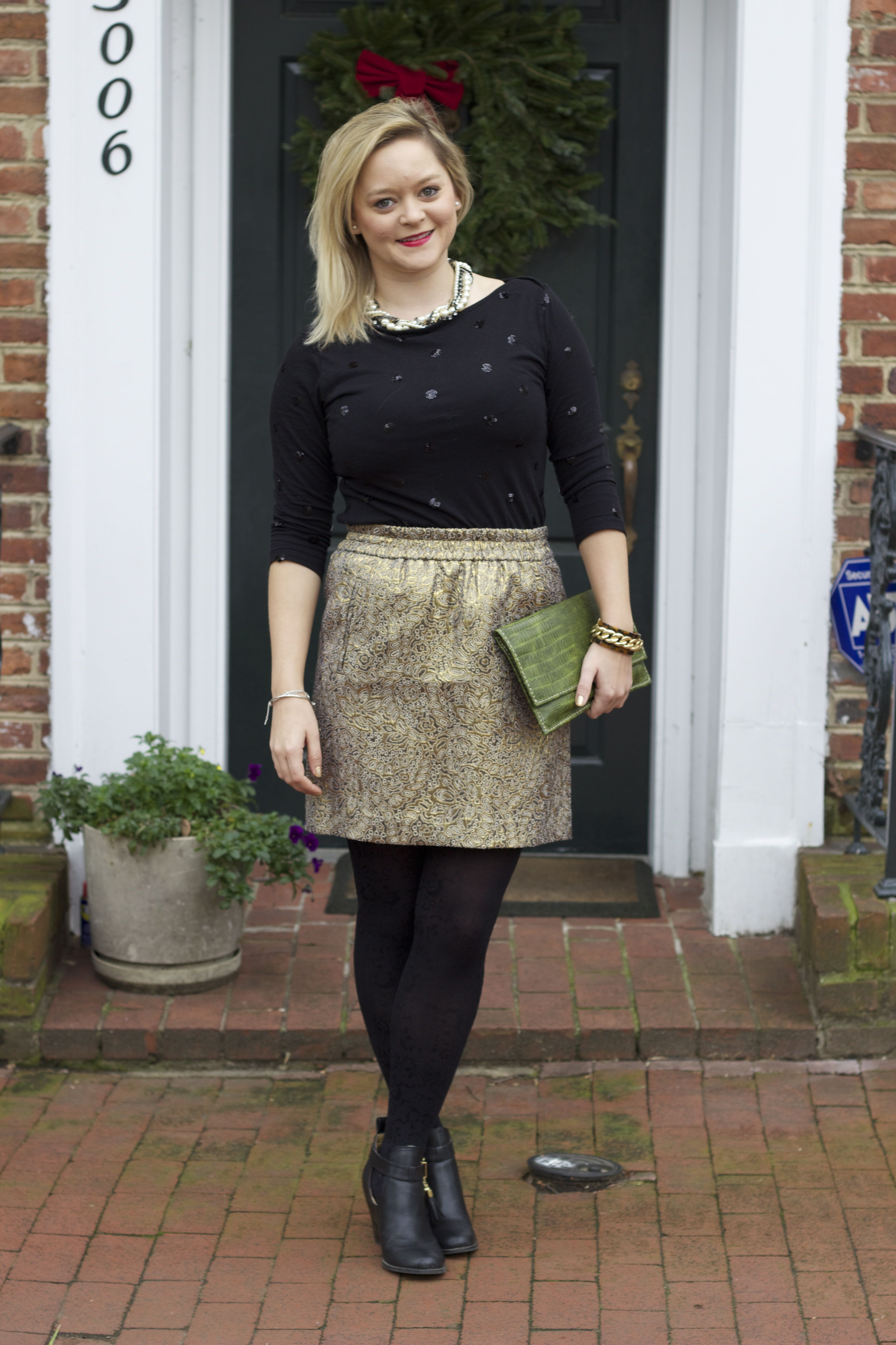 Christmas Eve outfit- Loft, Old Navy, more Loft, and even ...