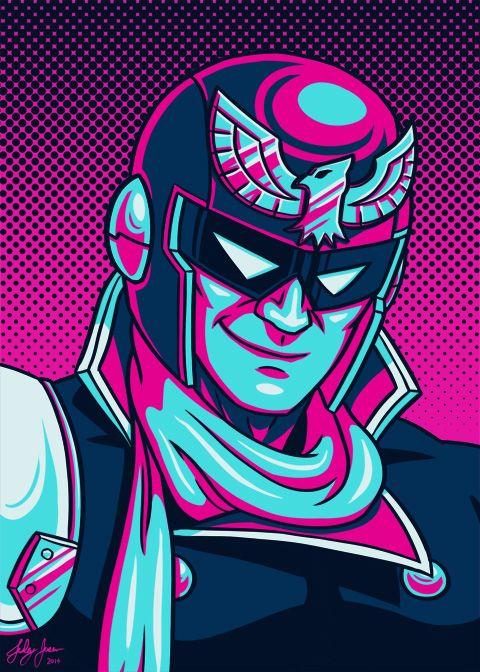 Captain Falcon Helmet Smash 4