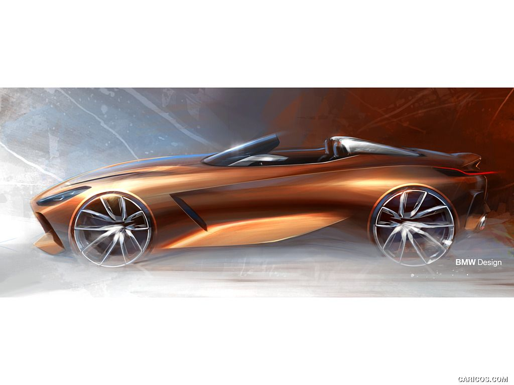 This Bmw M1 Shark Concept Study Come From The Year 2080 Carscoops Bmw M1 Bmw Shark