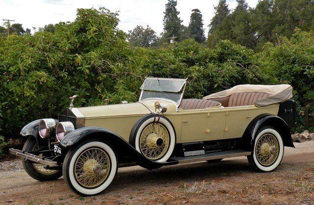 1925 Pall Mall Tourer Chassis S88lk Rolls Royce Rolls Royce