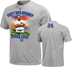 Robinson Cano New York Yankees Majestic Player Designed Signature Series T-Shirt $21.24 http://www.fansedge.com/Robinson-Cano-New-York-Yankees-Majestic-Player-Designed-Signature-Series-T-Shirt-_-1305630978_PD.html?social=pinterest_pfid66-41338