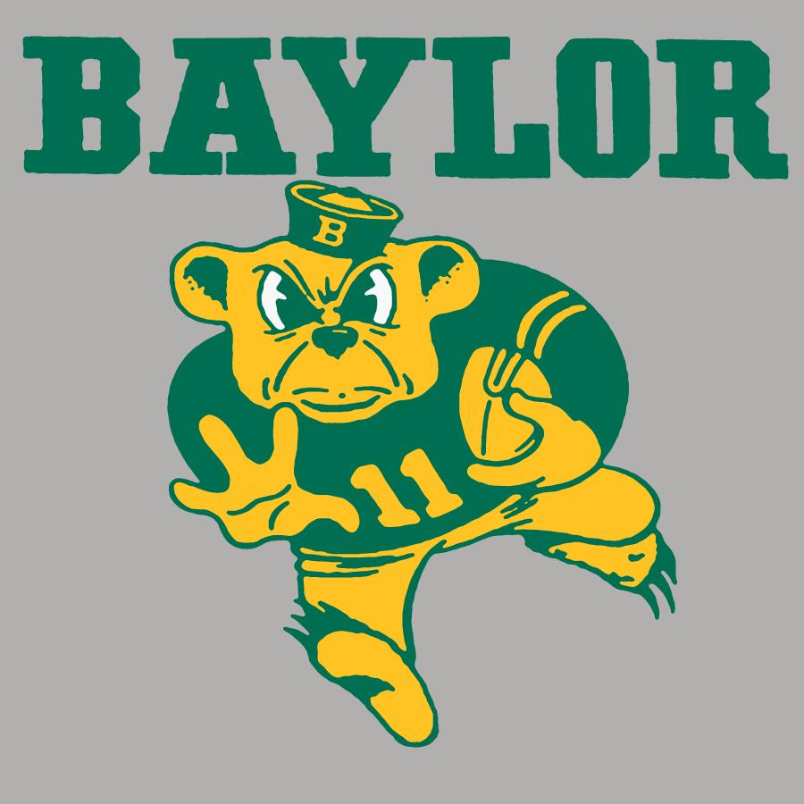 Baylor Bears Oldschool Vintage Baylor Baylor Sailor Bear Baylor University Bears