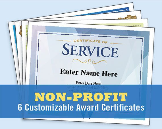 Sample Volunteer Certificate Template Free Blank Certificates No
