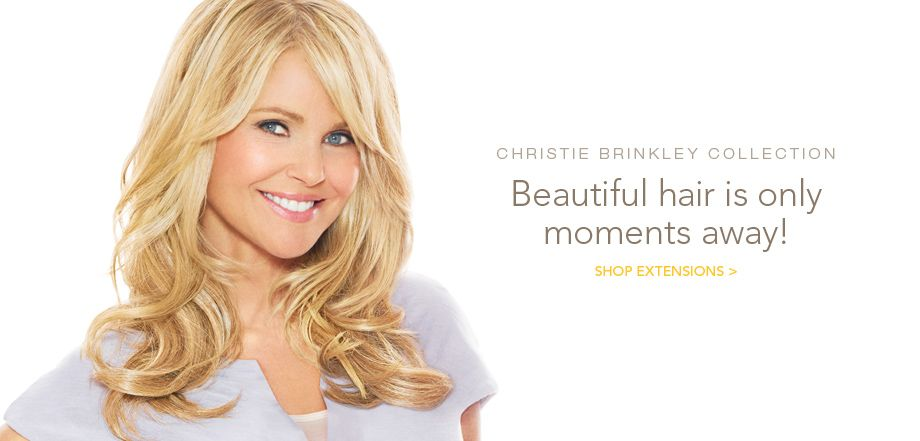 Introducing The Christie Brinkley Collection Ponytails Extensions