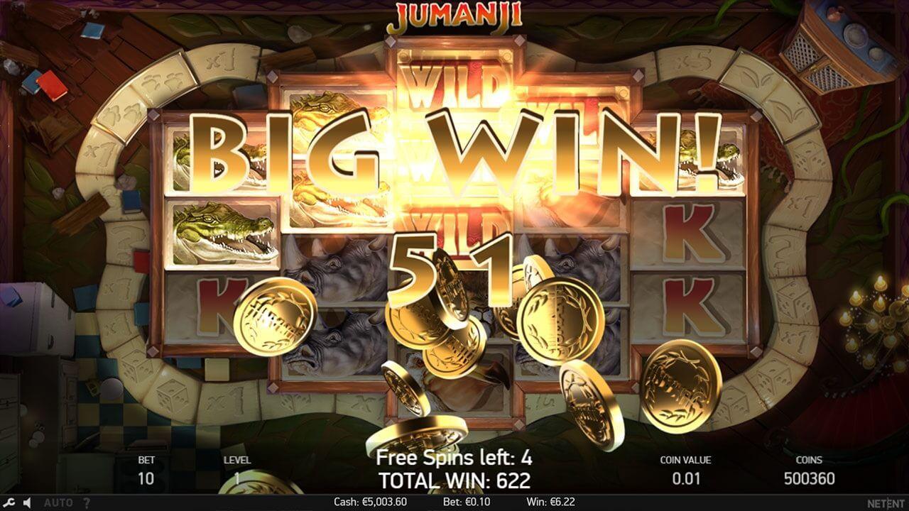 Jumanji Slot Review Casino Slot Online Casino Bonus