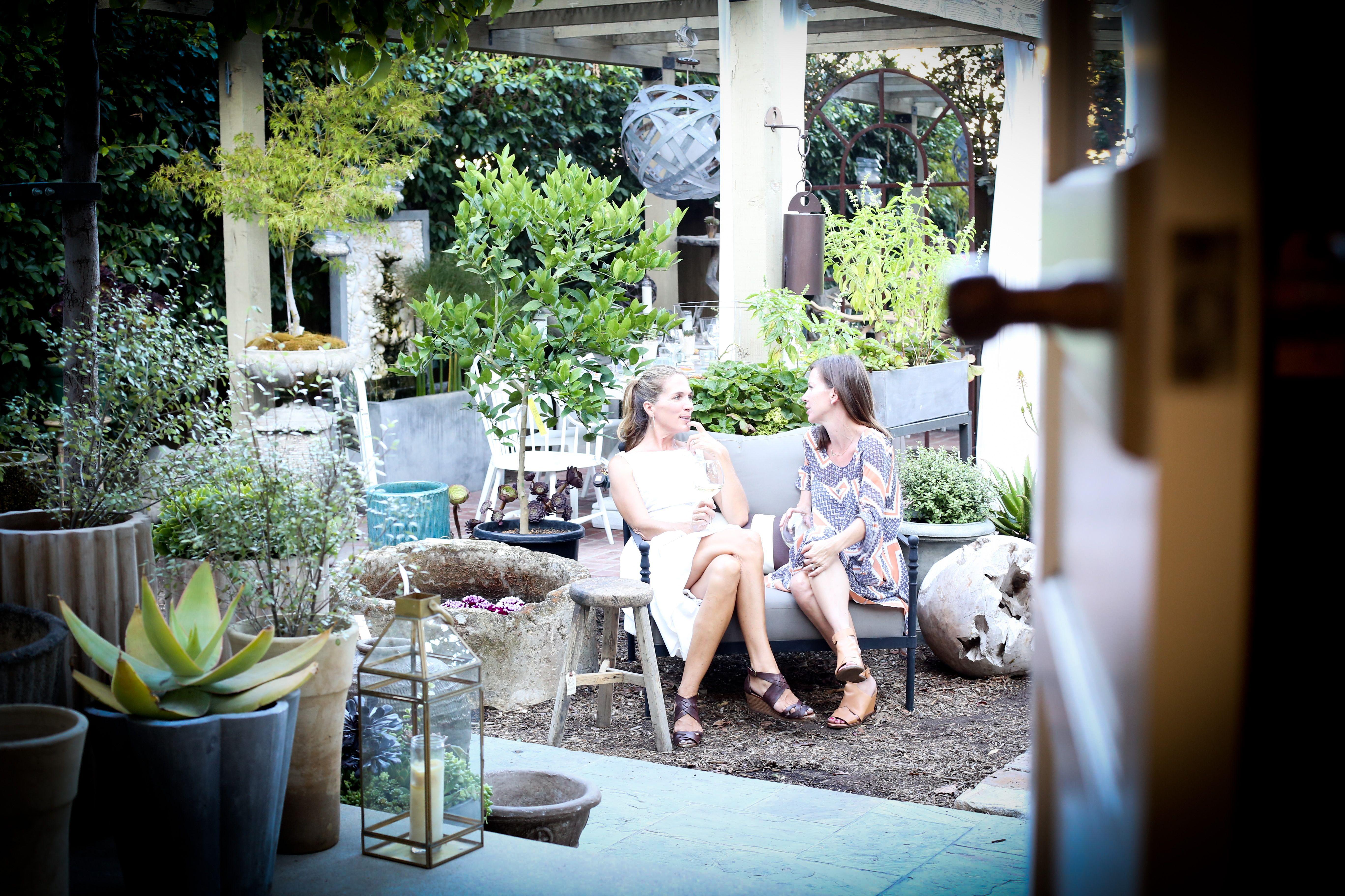 on a lark at molly wood garden design in costa mesa ca summer