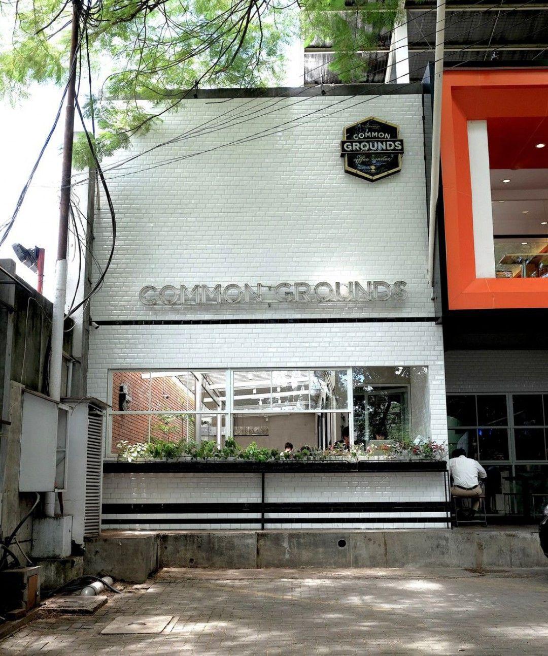 Industrial, Modern | Exterior | Common Grounds Bandung | Jl ...