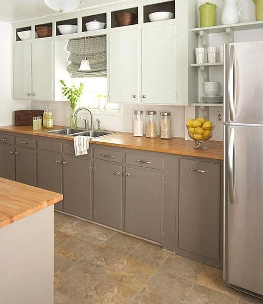 Off White Kitchen Cabinets With Slate Appliances: 17 Quick Guides To Kitchen Flooring And Countertop