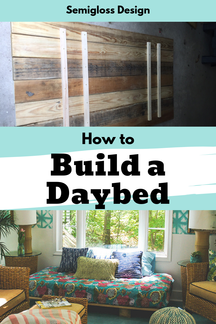 Learn How To Build An Easy Diy Daybed Perfect For Beginners