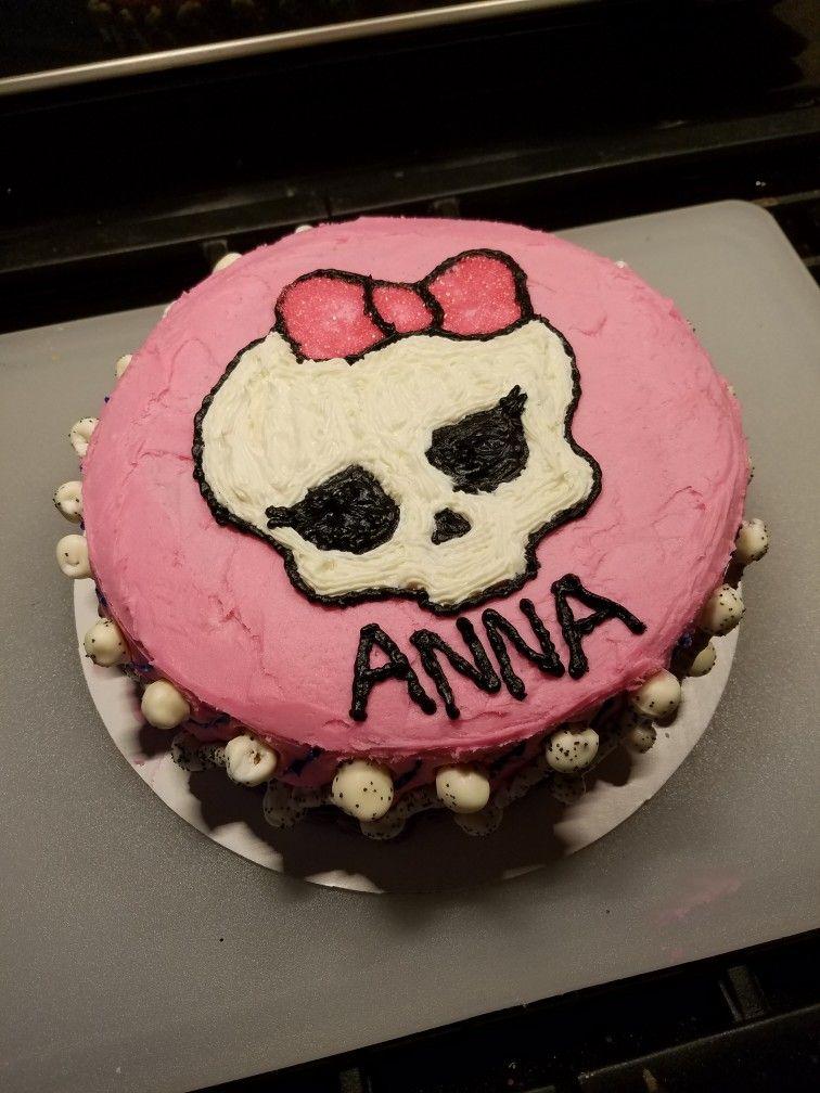 Monster High Birthday Cake Oct 2017 Cora Ann Cakes My Original
