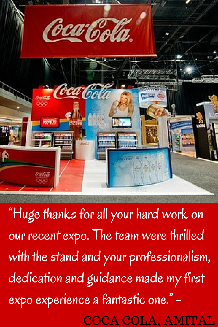Having a tradeshowstand is not enough, people need to