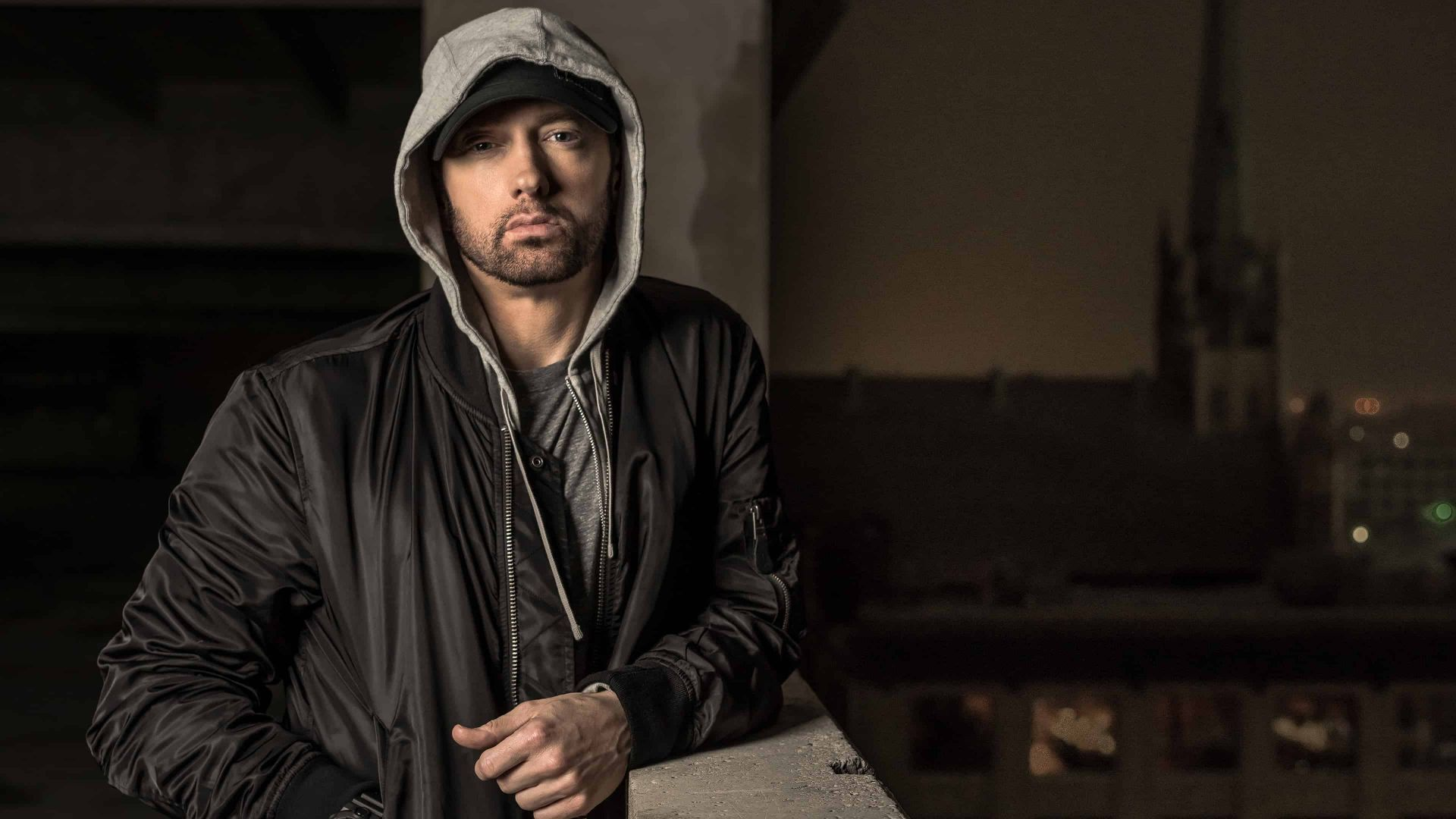 Eminem Singer Rapper Actor 4k Horizontalbackgrounds