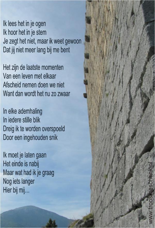 Seneca Citaten Dood : Troostgeschenk gedicht overlijden woorden bij verdiet