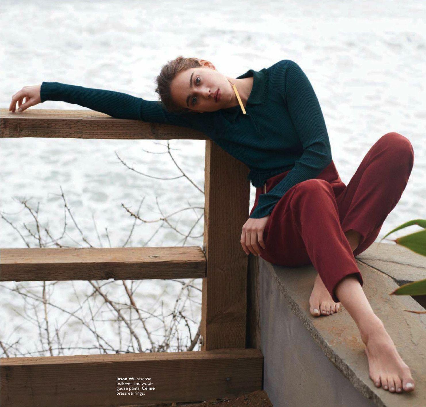Melissa Lutz by David Alfons Wilhelm Bornscheuer for InStyle US - Jason Wu