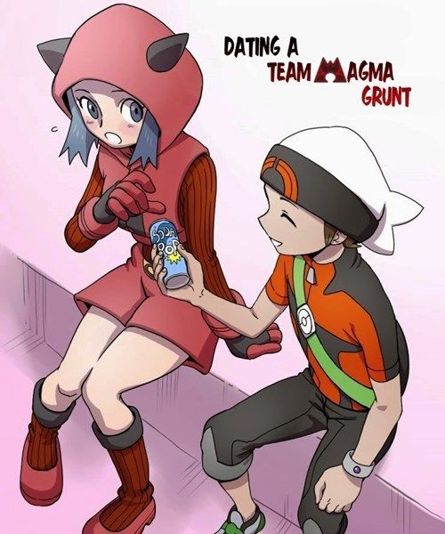 Dating A Team Magma Grunt