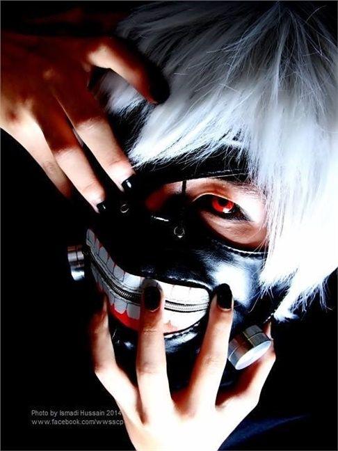 Kaneki Ken - Akimoto Jun(Aki) Ken Kaneki Cosplay Photo
