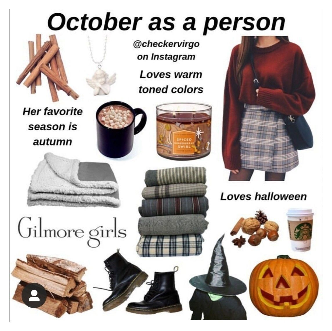 gilmore girls aesthetic clothes