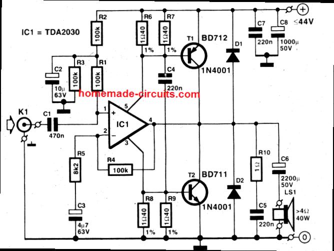 5 Best 40 Watt Amplifier Circuits Explored