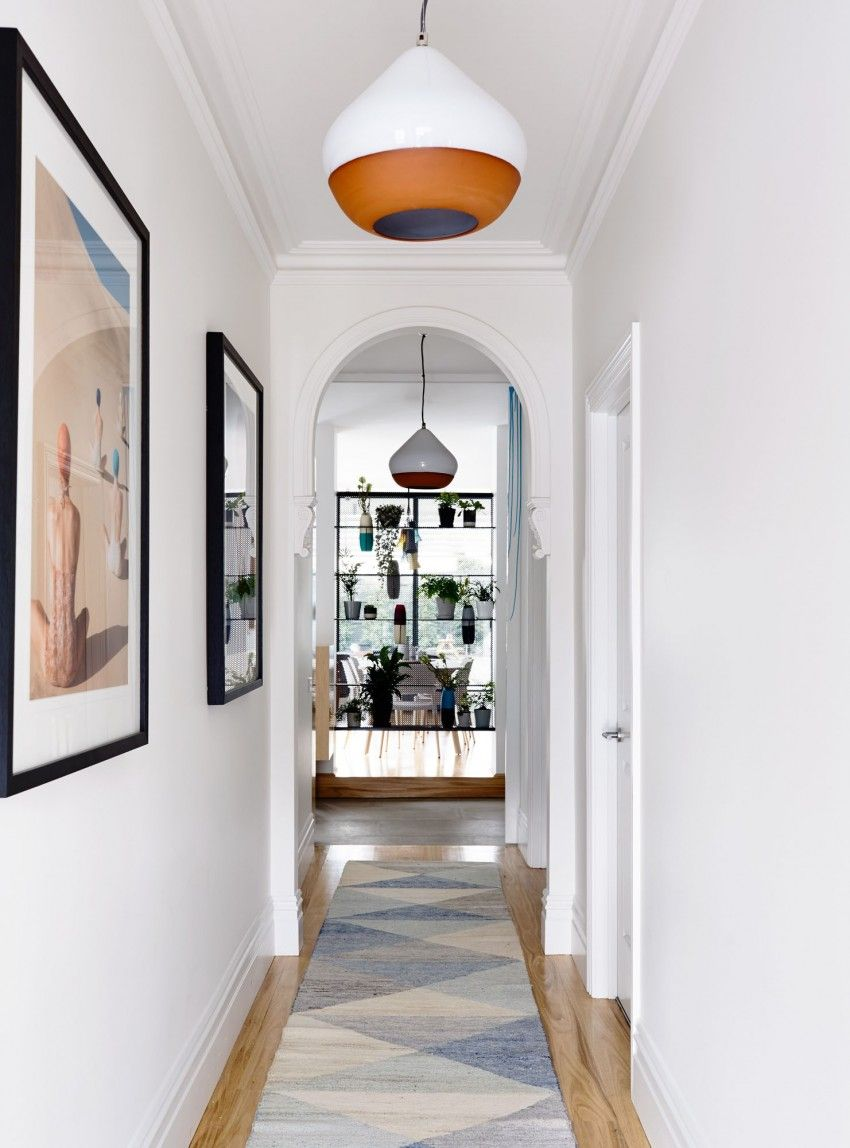 Entry hallway lighting  Sandringham Residence by Techne Architecture  Interiors Entry
