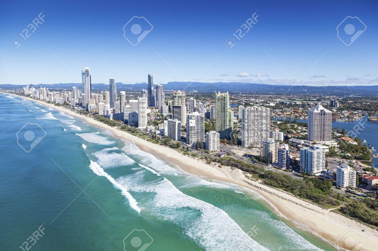 Обои Aerial, Gold Coast Skyline, queensland, Australia. Города foto 15