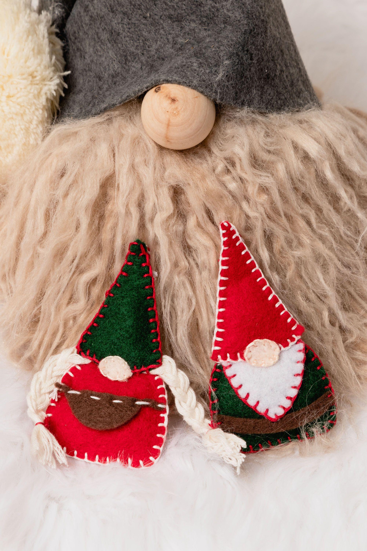 Easy Felt Christmas Ornaments, Felt Decorations to Make